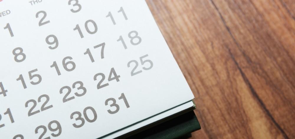 Handling a busy calendar