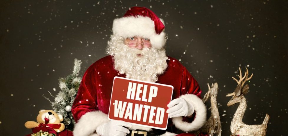 Hiring for the holiday season