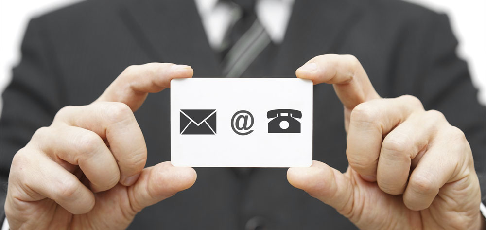Use your business card effectively
