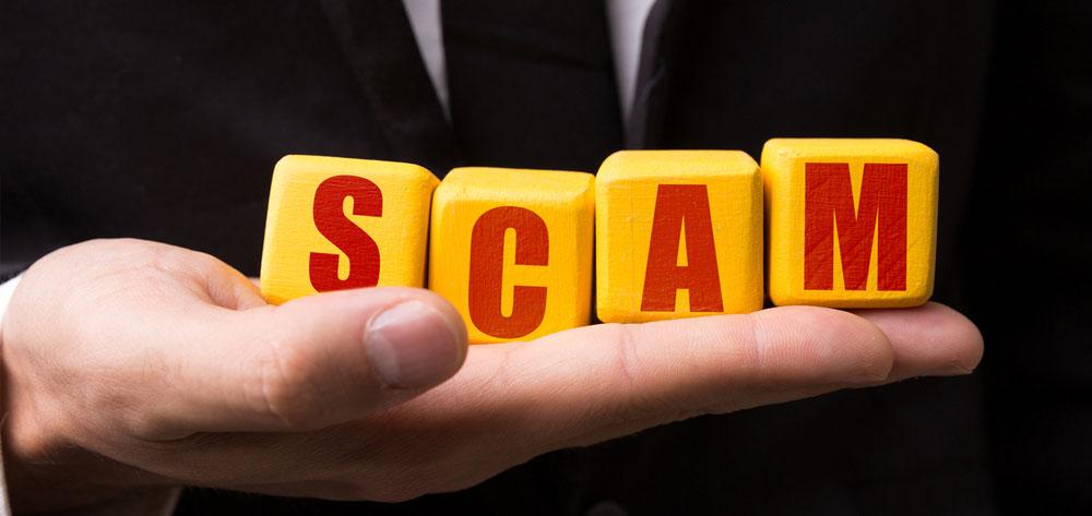 ATO impersonation scam report
