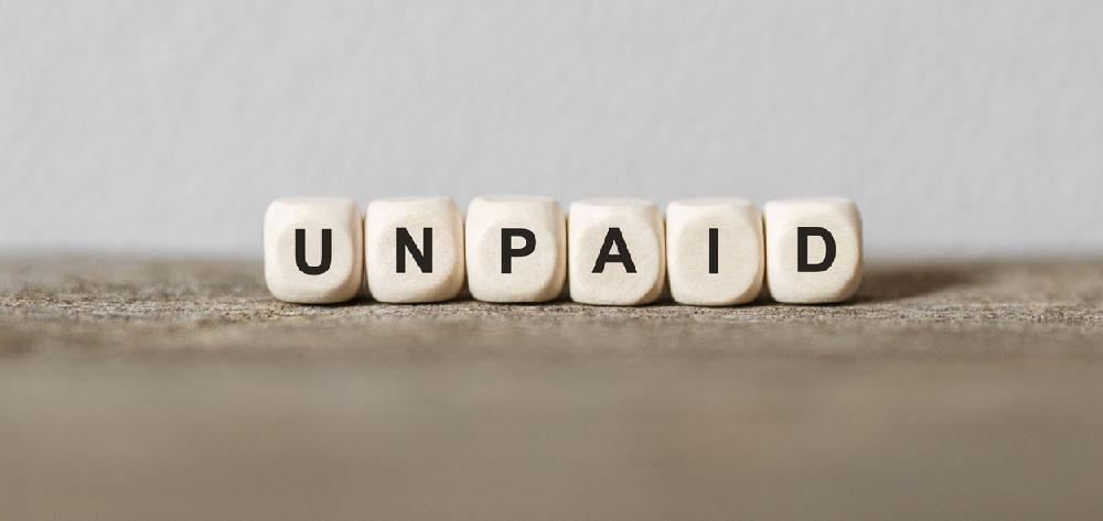 When is unpaid work legal?