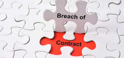 Dealing with customer breaches of contract